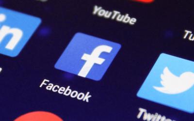 ikony mediów społecznościowych - facebook, twitter, linkedin, instagram, tumblr, youtube