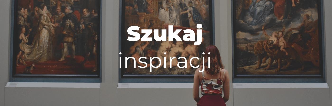 tworząc strony szukaj inspiracji