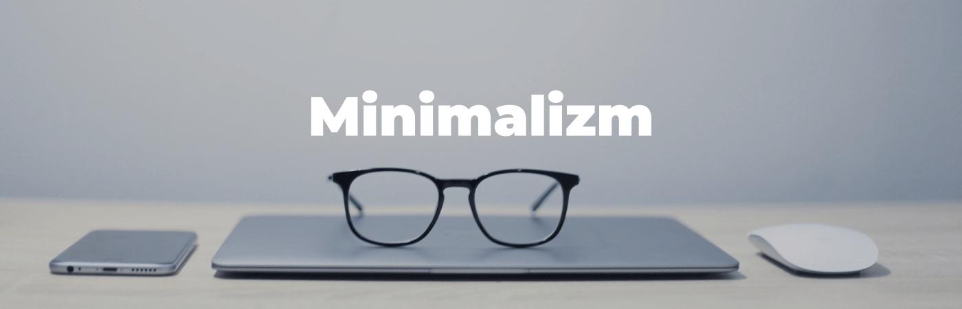 Minimalizm w web design