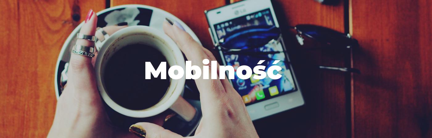 Mobilność w web design