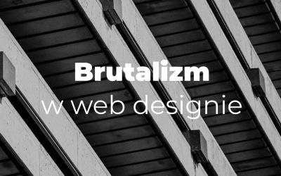 Brutalizm w web designie