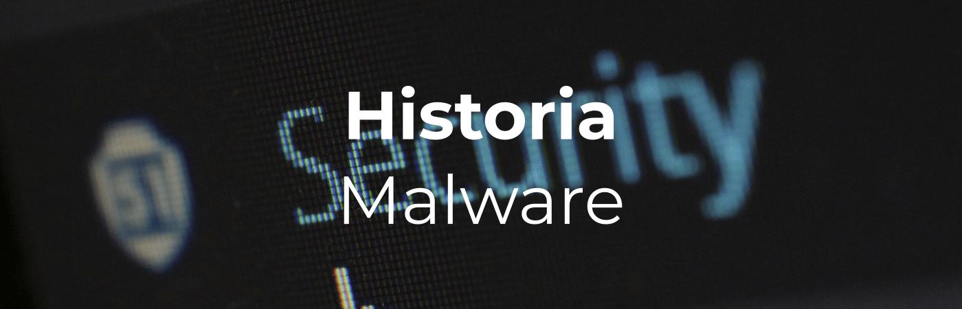 Historia wirusa malware