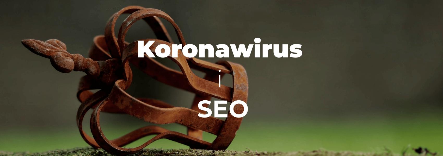 Koronawirus w SEO