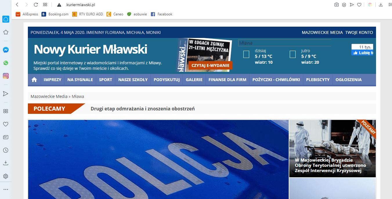 Nowy kurier Mławski
