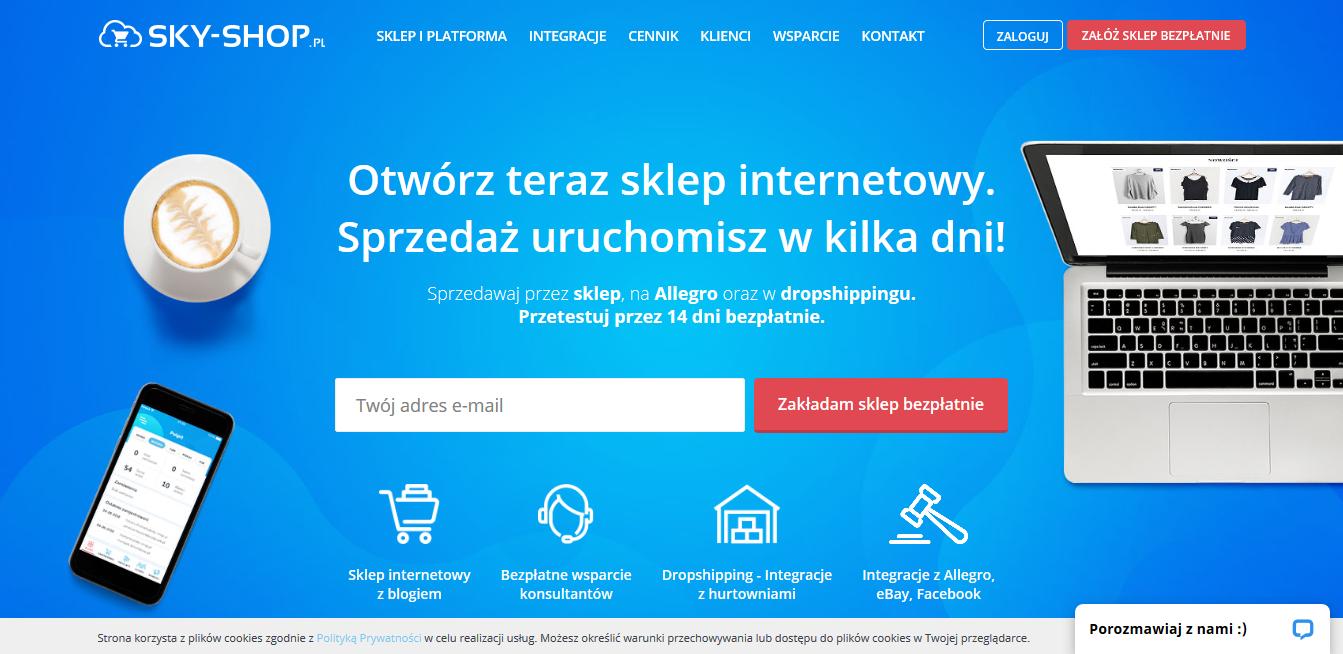 sklep internetowy sky shop