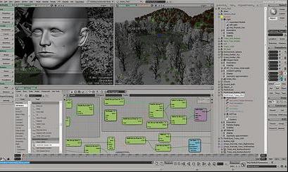 program do animacji Autodesk Softimage
