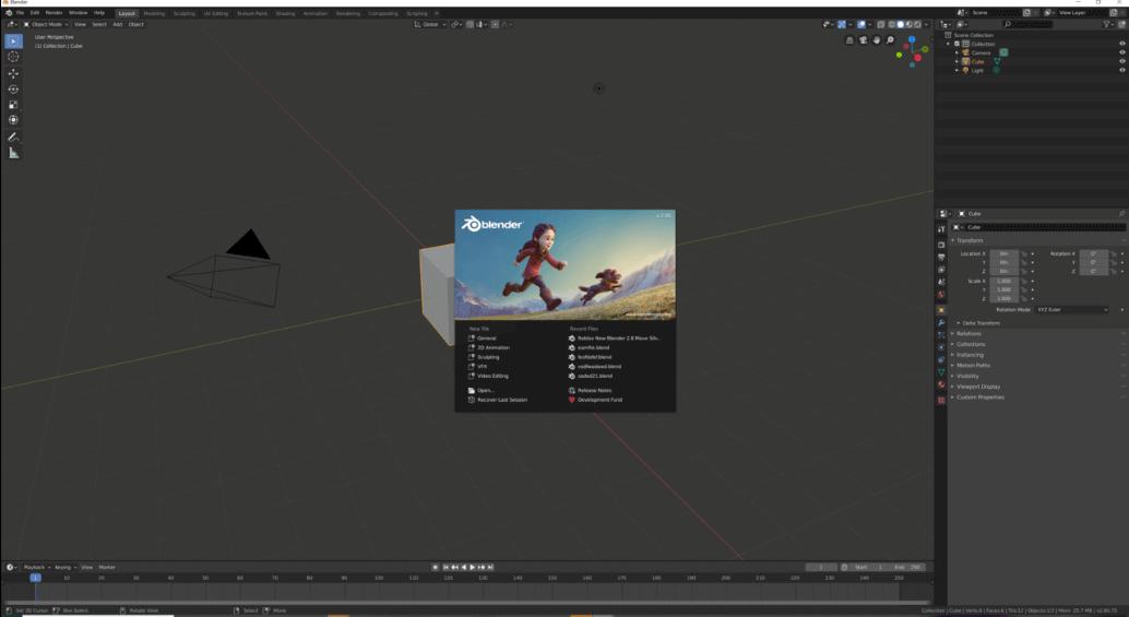 program do animacji Blender