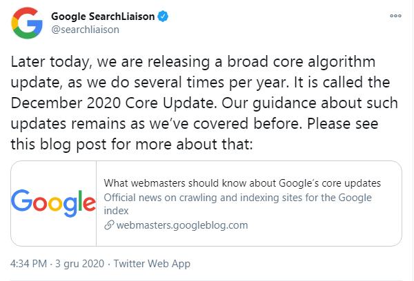 komunikat-google