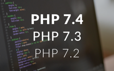 PHP 7.4, PHP 7.3, PHP 7.2